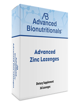 Advanced Zinc Lozenges – Zinc Acetate Supplement