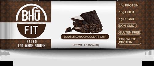 High Fiber Snacks - BHU Double Dark Chocolate Chip